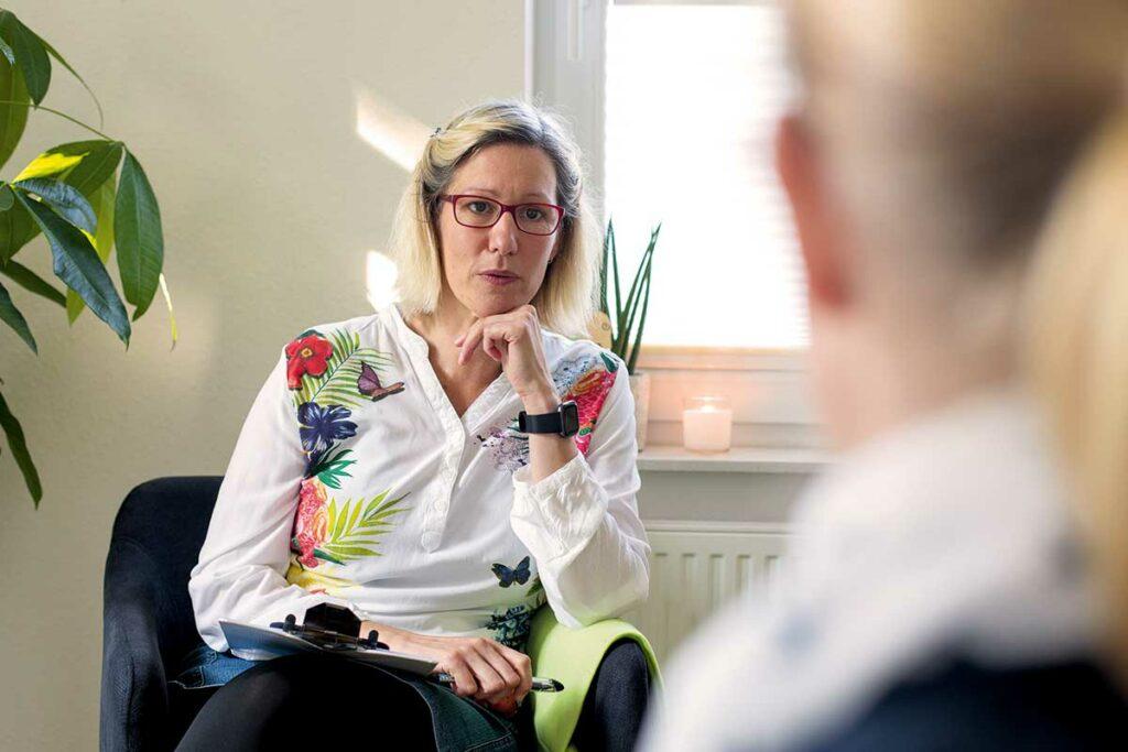 Katja Borasch, Psychotherapie